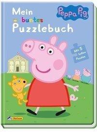 Peppa: Mein buntes Puzzlebuch -