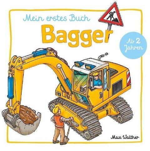 Mein Bagger Buch -