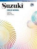 Suzuki Violin School 1 Revised Edition mit CD - Shinichi Suzuki