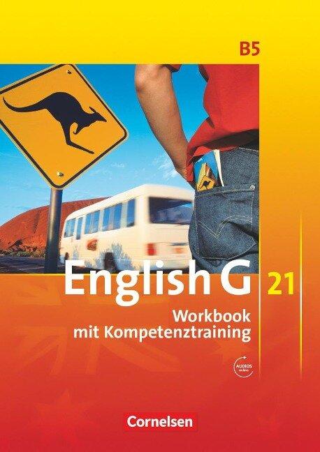 English G 21. Ausgabe B 5. Workbook mit Audios online - Jennifer Seidl