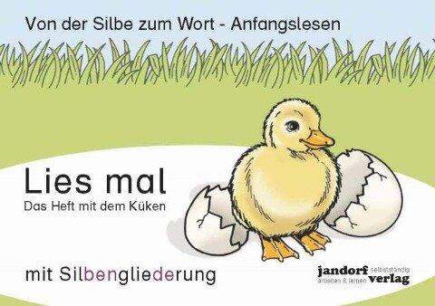 Lies mal - Das Heft mit dem Küken - Jan Debbrecht, Peter Wachendorf