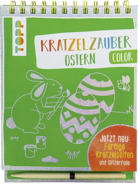 Kratzelzauber Color Ostern -