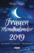 Frauen Mondkalender 2019 Taschenkalender - Helga Föger