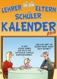 Uli Stein Lehrer Eltern Schüler 2019 - Wandkalender - Uli Stein