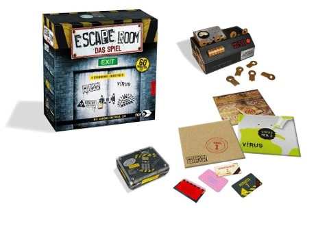 Escape Room Das Spiel -