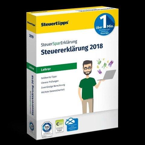 SteuerSparErklärung Lehrer 2019 -