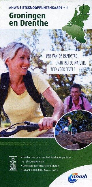 Knotenpunktkarte 01 Groningen en Drent 1:100 000 -