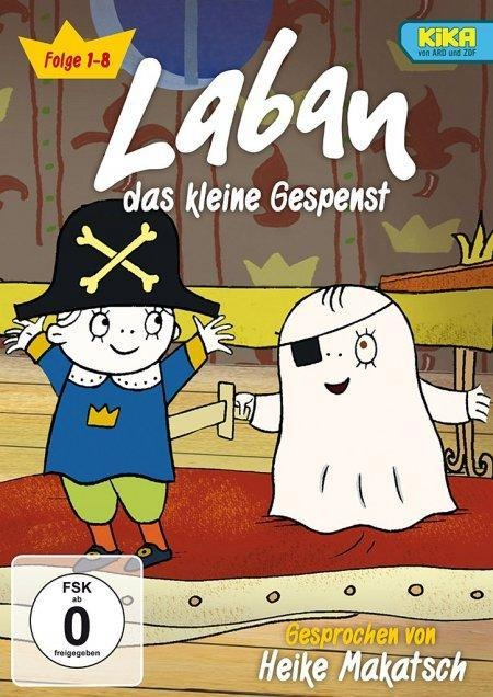 Laban das kleine Gespenst - Alrun Fichtenbauer, Lena Ollmark, Inger Sandberg, Magnus Dahlberg
