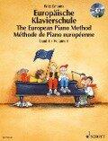 Europäische Klavierschule 1. Buch und CD - Fritz Emonts
