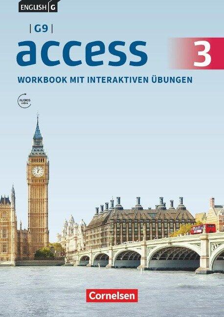 English G Access - G9 - Band 3: 7. Schuljahr - Workbook mit interaktiven Übungen auf scook.de -