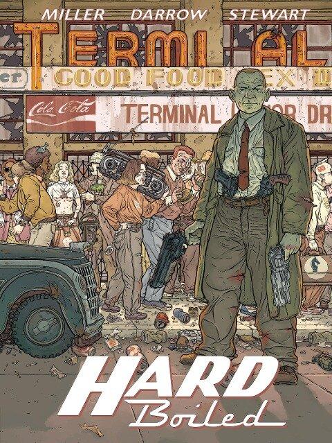 Hard Boiled - Neue Edition - Frank Miller, Dave Stewart