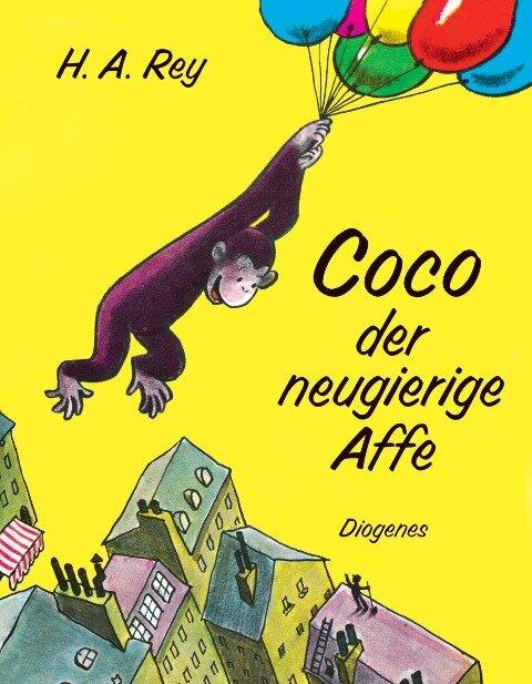 Coco der neugierige Affe - H. A. Rey