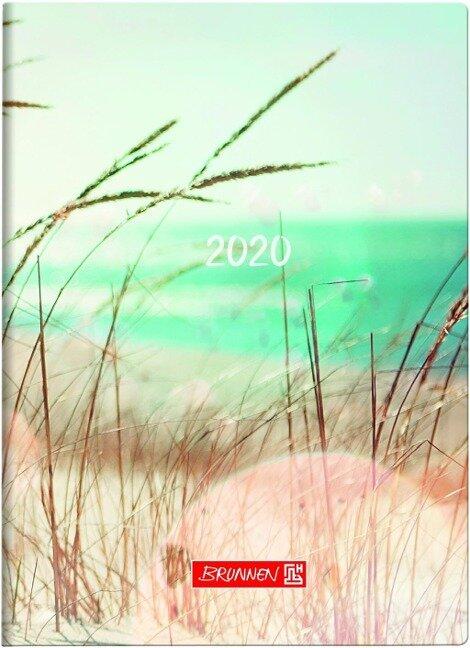 Brunnen Taschenkalender 2020, Grafik Strand -