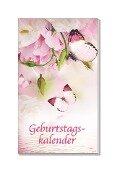 Taschen-Geburtstagskalender Romantik -