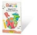 Leseratte Otilie Magnet Buchstaben -