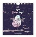Der frühe Vogel 2019 Postkartenkalender -