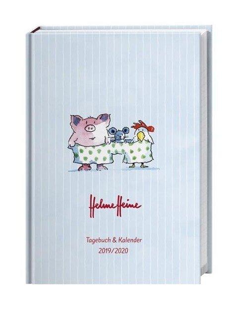 Helme Heine Kalenderbuch A6 2020 -