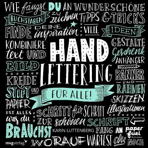 Handlettering für alle! - Karin Luttenberg
