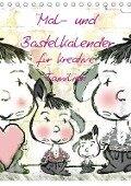 Mal- und Bastelkalender für kreative Familien (Tischkalender 2017 DIN A5 hoch) - Claudia Burlager