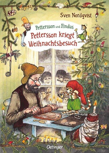 Pettersson kriegt Weihnachtsbesuch - Sven Nordqvist