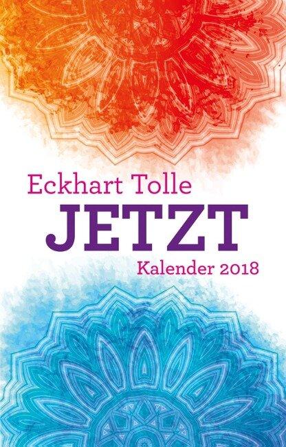 Jetzt 2018 Taschenkalender - Eckhart Tolle