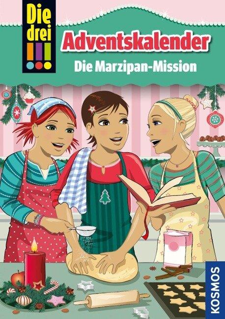 Die drei !!!, Die Marzipan-Mission - Maja von Vogel