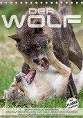 Emotionale Momente: Der Wolf. (Tischkalender 2017 DIN A5 hoch) - Ingo Gerlach