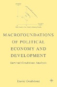 Macrofoundations of Political Economy and Development - D. Goalstone