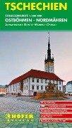 Höfer Tschechische Republik CS003 Ostböhmen - Nordmähren 1 : 200 000 -