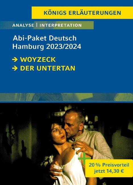 Abitur Deutsch Hamburg 2023 - Königs-Erläuterungen-Paket - Heinrich Mann, Georg Büchner