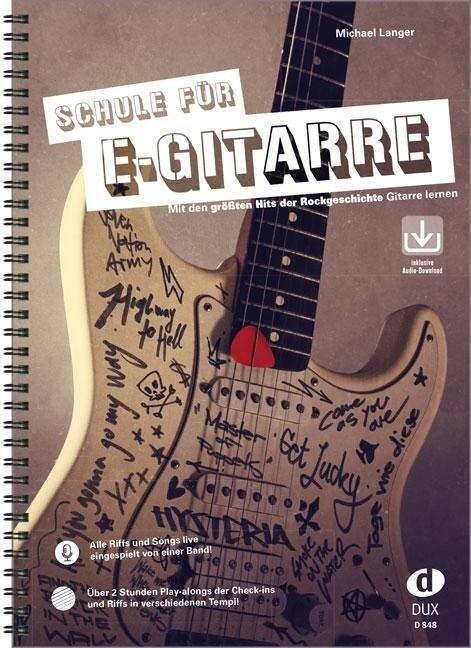 Schule für E-Gitarre - Michael Langer