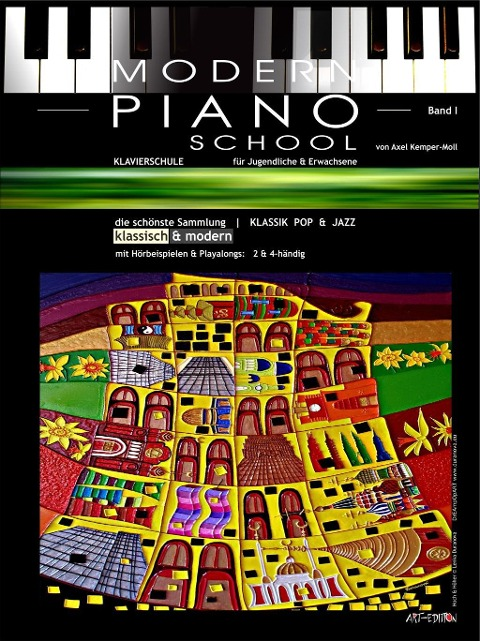 Modern Piano School 1 / Klavierschule - Axel Kemper-Moll
