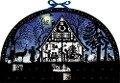 Wandkalender - Lichterbogen Weihnachtswald -