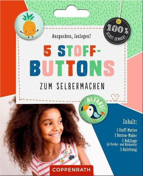 5 Stoff-Buttons zum Selbermachen -