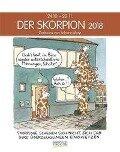 Der Skorpion 2018. Sternzeichen-Cartoonkalender -