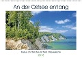 An der Ostsee entlang (Wandkalender 2018 DIN A2 quer) - k. A. Calvendo