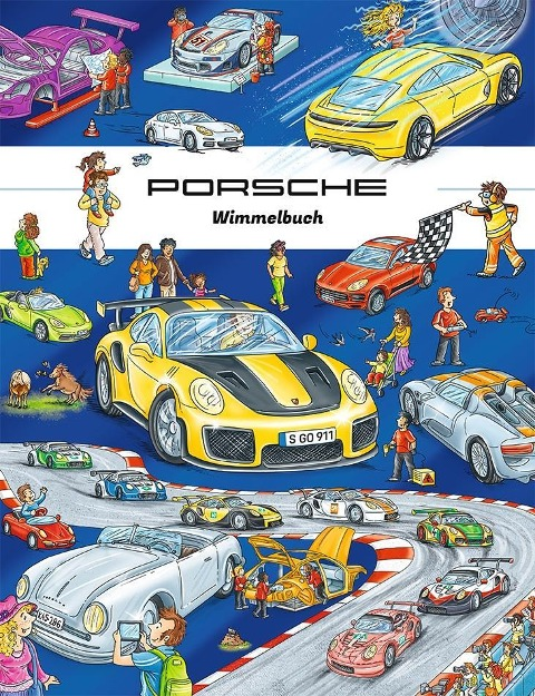 Porsche Wimmelbuch -