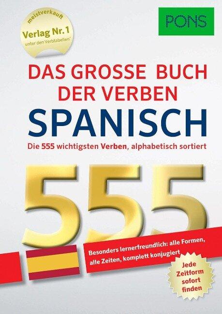 PONS Das große Buch der Verben Spanisch -