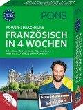 PONS Power-Sprachkurs Französisch in 4 Wochen. Buch mit 2 CDs und 24 Online-Kurztests -