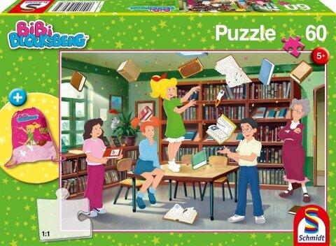 Bibi Blocksberg, 60 Teile - Kinderpuzzle mit Turnbeutel -