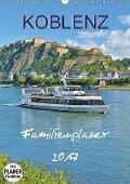 Koblenz Familienplaner (Wandkalender 2017 DIN A3 hoch) - Jutta Heußlein