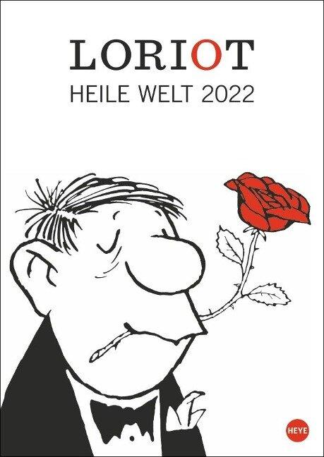 Loriot Heile Welt - Kalender 2022 -