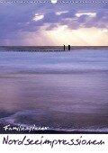 Nordseeimpressionen (Wandkalender 2019 DIN A3 hoch) - Lydia Weih