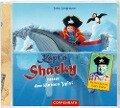 CD: Käpt'n Sharky rettet den kleinen Wal - Jutta Langreuter