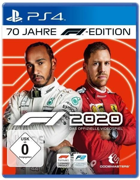 F1 2020 70 Jahre F1 Edition (PlayStation PS4) -