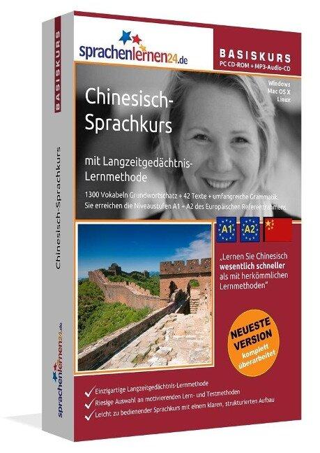 Sprachenlernen24.de Chinesisch-Basis-Sprachkurs. PC CD-ROM für WindowsVista; XP; NT; ME; 2000; 98/Linux/Mac OS X + MP3-Audio-CD für Computer /MP3-Player /MP3-fähigen CD-Player -