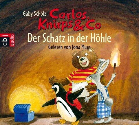 Carlos, Knirps & Co - Der Schatz in der Höhle - Gaby Scholz