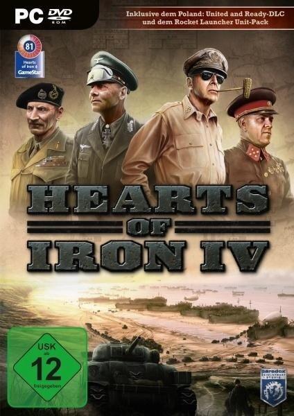 Hearts of Iron IV. Für Windows 7/8/10 (64-Bit) -