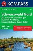 Kompass Wanderführer Schwarzwald Nord - Elke Haan