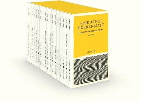 Das dramatische Werk in 18 Bänden in Kassette - Friedrich Dürrenmatt